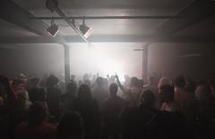 Different Language Halloween Party @ Gate No. 5 (sammydingle) Tags: party halloween canon dark fun happy lights dj smoke crowd ceiling east warehouse 5d hull derelict ef beams 1635 speedlights differentlanguage gateno5