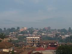 Blick ueber Bamenda