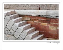 Dock Wall Steps (Mike Parr) Tags: urban architecture liverpool docks urbanlandscape regentroad stanleydock mikeparr dockarchitecture mikeparrphotography fujixseries fujixt1
