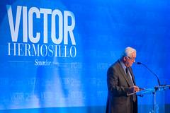 SENADOR VICTOR HERMOSILLO RINDE SU SEGUNDO INFORME DE ACTIVIDADES LEGISLATIVAS