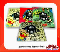dc comics - guardanapos (dadodebomgrado) Tags: comics dc guardanapos descartveis