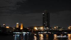 Saphan Phoot (krashkraft) Tags: thailand boat bangkok memorialbridge allrightsreserved chaophrayariver statetower rivercruise 2013 grandpearl krashkraft saphanphoot