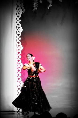 Acharya Pratishtha Sharma as a guest artist at  Miss India Indonesia