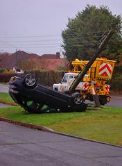 oops (grahamfellows58) Tags: car smash crash oops rollover