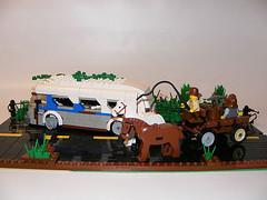 DSCF0006 (shumpei_sano_exp3) Tags: greyhound bus lego cart ruined apocalego headforthehillsapocalegocontest