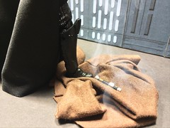 The end of Kenobi (chevy2who) Tags: black death star starwars ben darth series wars vader custom diorama hasbro obiwan kenobi thedeathstar starwarsblackseriesdiorama