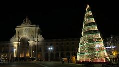 939-December'14 (Silvia Inacio) Tags: christmas xmas portugal natal arch lisboa lisbon arco praacomrcio arcoruaaugusta