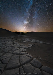 Sands of Time (Jim Patterson Photography) Tags: california travel nature stars landscape outdoors photography nationalpark desert patterns deathvalley nightsky geology milkyway mesquitesanddunes jimpatterson inyocounty mudtiles starrysky jimpattersonphotography jimpattersonphotographycom seatosummitworkshops seatosummitworkshopscom
