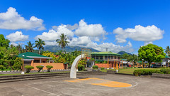 At The Countryside: Bacacay Town -- Image 12 (Pete Toshio) Tags: travel sunset sea summer vacation panorama beach church canon wow landscape island eos bay countryside town catholic adobephotoshop tricycle philippines transport sigma sunny panoramic telephoto adobe tropical mayon bicol tropics tracking lightroom albay blacksandbeach pumpboat bacacay wowphilippines 550d mountmayon padyak adobephotoshoplightroom 18250mm petertoshiro bicolregion mayonvulcano albayprovince rebelt2i kissx4 wowbicol morefuninthephilippines morefuninbicol