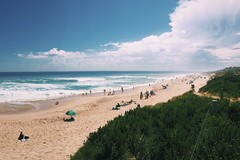St Andrews Surf Beach (muzocan) Tags: summer people cloud beach st clouds sand surf andrews waves wave australia victoria