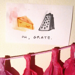 grate (emp4checo) Tags: illustration humor cheesey