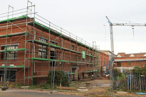 Baustelle Horch-Museum