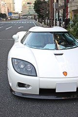 CCX (#Rtrphotography) Tags: white car sport japan tokyo super exotic turbo v8 koenigsegg ccx