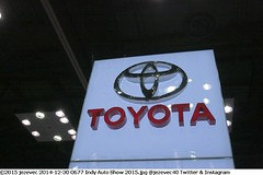 2014-12-30 0677 Indy Auto Show 2015 TOYOTA group