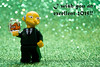 Os deseo un excelente 2015. (Marmotuca) Tags: lego newyear burns excellent 2015 excelente srburns