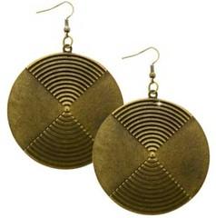5th Avenue Brass Earrings P5030-2