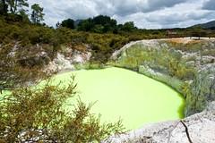 Wai-o-Tapu, Devil's Bath (hapesk) Tags: devilsbath waiotaputhermalwonderland cestování novýzéland severníostrov