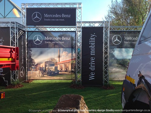 BANNER STAND DESIGN AND INSTALLATION ROAD SHOWS SOUTH AFRICA-1