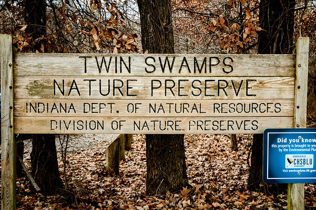 Twin Swamps Nature Preserve - January 6, 2015