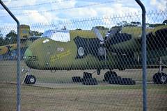 DSC_0925 (LoxPix2) Tags: clouds vintage landscape airport aircraft australia queensland nomad caribou oakey loxpix australianarmyflyingmuseum