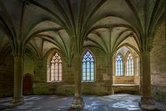 Kloster Maulbronn - Monastery-4367-HDR (Holger Losekann) Tags: architektur kloster säulen säule gewölbe maulbronn klostermaulbronn