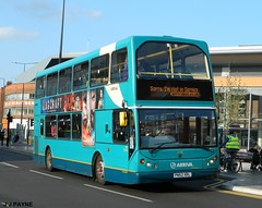 Arriva Midlands (4736) ELC DAF Mylennium Lowlander - PN52 XRL (J.J.Pay 4615) Tags: uk bus elc leicester transport midlands nis daf eastlancs pn52xrl
