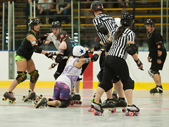 IMG_0234 (clay53012) Tags: ice team track flat arena madison skate roller jam derby league jammer mrd bout flat wftda derby womens track hartmeyer moocon2016