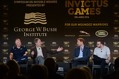 Invictus Games Symposium on Invisible Wounds (TheBushCenter) Tags: winner