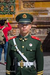 Guard @ Forbidden City , Beijing (ZUCCONY) Tags: china cn beijing bobby forbiddencity 2016 zucco beijingshi bobbyzucco pedrozucco