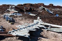 USAF BOEING B-29 SUPERFORTRESS 44-61999 WRECKAGE (Dave707) Tags: memorial crash aircraft military overexposed boeing remembrance wreck bomber usaf wreckage usairforce peakdistrictnationalpark b29 superfortress bleaklow highershelfstones shelfmoor pdnp rb29 4461999 rb29a