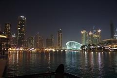 Nightime Dubai (pam's pics-) Tags: city urban water night buildings reflections evening dubai skyscrapers uae arabia unitedarabemirates dubaimarina pammorris pamspics dubaiharbor sonya6000
