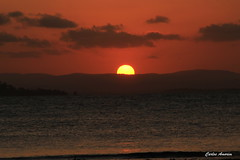 Sunset em Barra Grande (Carlos Amorim (Camorim10)) Tags: sunset sol gua mar grande do cu prdosol bahia ponta barra nordeste mara entardecer pennsula brsil mut