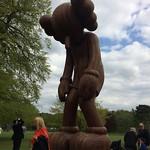 Amazing Kaws sculpture at Yorkshire sculpture park