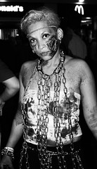 (Mango*Photography) Tags: life street people art beautiful trash portraits dark walking dead weird chains blood eyes photographer artistic zombie walk fear fine creepy scream horror intriguing disturbing unusual ethnic giulia provocative evocative bergonzoni