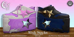 *NW* Wish Stacks (NeverWish) Tags: cute shoes nw goth kawaii bubble accessories stacks neverwish