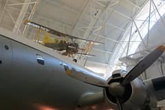 IMG_4070 (Little Chubby Panda) Tags: museum smithsonian aircraft biplane airandspacemuseum udvarhazy nasm agcat g164