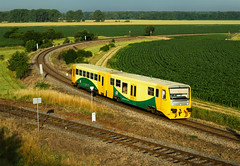 Sudomice (Nikis182) Tags: 914104 d regionova diesel locomotive brejlovec eleznice morava esk republika czech republic railway nikis182