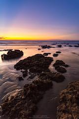 Sunset @ Dayuan (Mr.Saengphon) Tags: light sunset sea sky rock skyline canon landscape twilight outdoor taiwan tw taoyuancity eosm taiwanlandscape efs1018isstm dayuandistrict