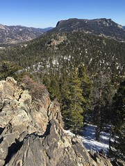Rocky Mountain National Park (Nina Marie's Photography) Tags: blue trees mountains green nature outside outdoors nationalpark colorado rocky boulders rockymountains blueskies estespark pinetrees rockymountainnationalpark