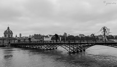 IMG_7832 (yveseric) Tags: paris seine arts des pont crue pontdesarts