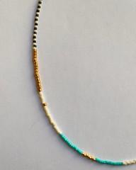 Beaded Miyuki necklace (dianetee) Tags: miyuki beadednecklace