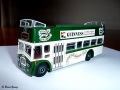 The Old Galway Tour - Corgi Model Bus (Fred Fanakapan) Tags: bus galway corgi model guinness diecast