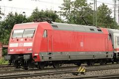 DB Electric locomotive N° 101 053.