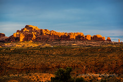 Devil's Playground (Roshine Photography) Tags: sunset field rock landscape utah us unitedstates outdoor environmental archesnationalpark goldenhour landcape rockformation utdoor pentaxk3ii 2016utahtrip