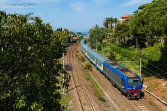 E.464.375 TI (Andrea Sosio) Tags: train italia liguria reg treno mulinetti bombardier trenitalia 375 regionale recco ferroviedellostato 11367 nikond60 e464 andreasosio