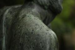 Bergfriedhof  (Heidelberg), Germany (Maria Vladimirskaya -) Tags: friedhof cemetery trauer memory germany graveyard regen кладбище engel angel rain 50 mm