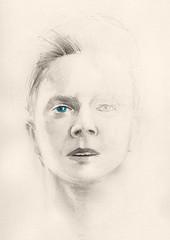 Portrait (calinutz) Tags: blue portrait eye monument robyn