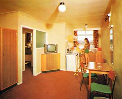 Pontins Southport Holiday Camp - Photo from 1972 brochure (trainsandstuff) Tags: vintage retro chalet 1970s archival ainsdale southport pontins holidaycamp