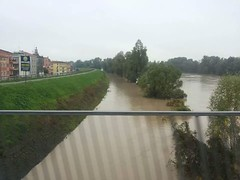 Adige in piena