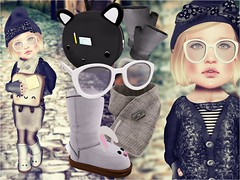 Don't forget your backpack ! (LauraZeroResident / Beautiful Mistake) Tags: school snow bunny fashion festival shirt kids scarf project glasses la boots stripes turducken toast tights skirt sl cest secondlife ugly backpack kawaii littlegirl bandana dots kirin 50 beanie atomic limited snails mittens vie 2pm the auras minuet snips miseria fashionblog mothergooses kustom9 laviere toodledoo xiasumi duckng